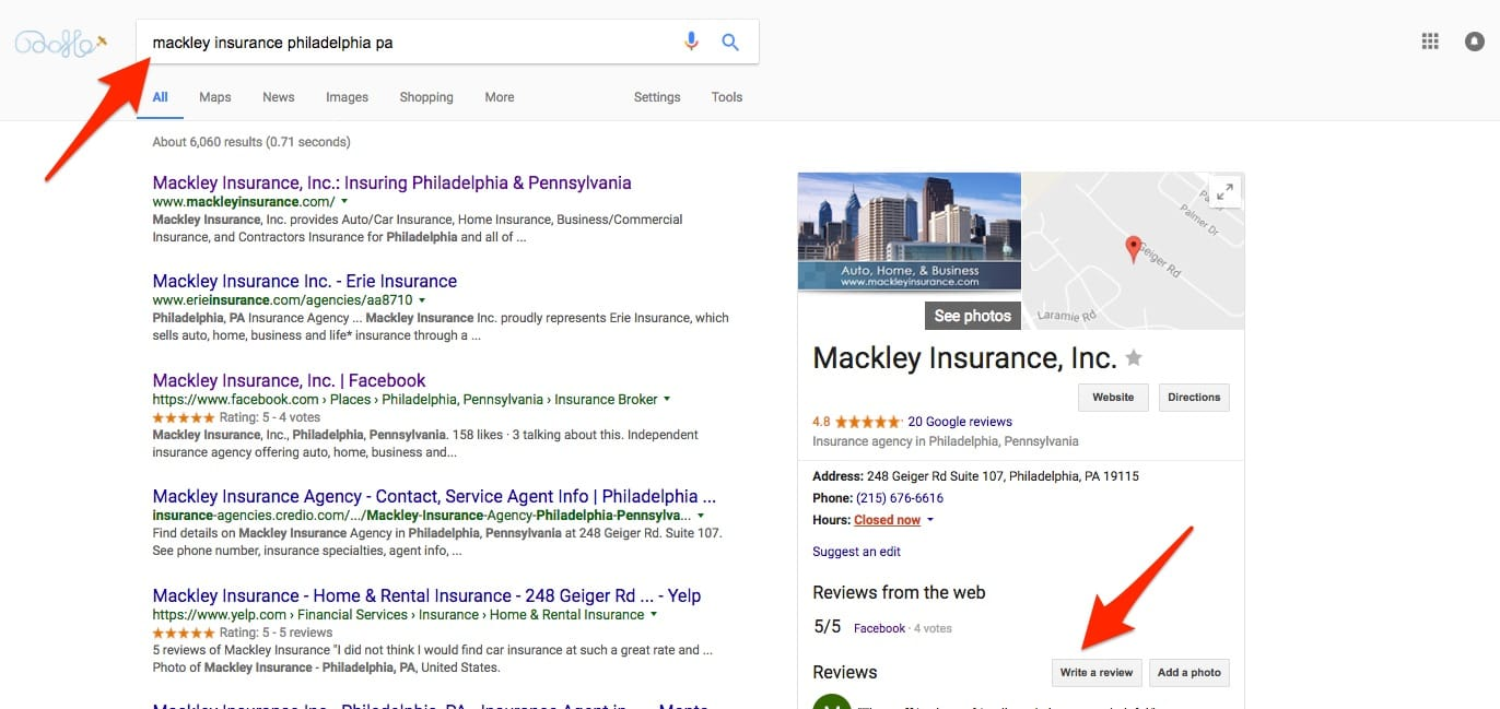insurance-review-philadelphia-pa